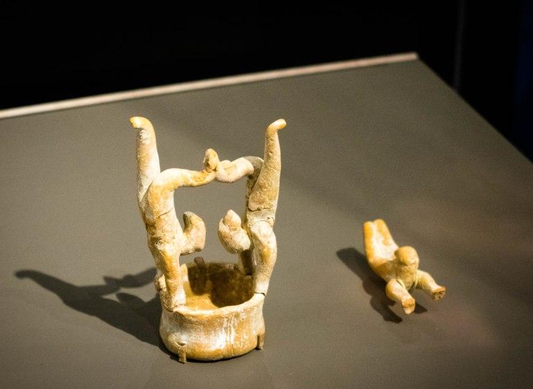 Acrobats, Han Dynasty, 206-220 CE