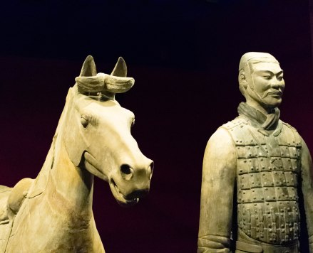 Calvary with Horse, Qin Dynasty