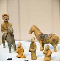 Human Figure Pottery, Warring States Period, 3rd-4th Century BCE
