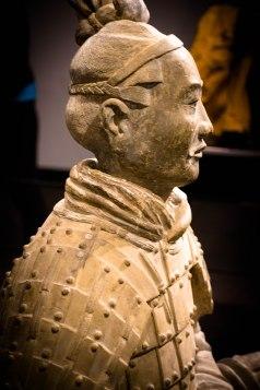 Kneeling Archer, Warring States Period Qin Dynasty,3rd Century BCE