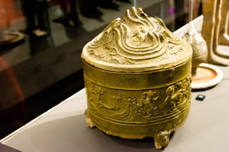 Pottery Container With LId, Han Dynasty, 206-220 CE