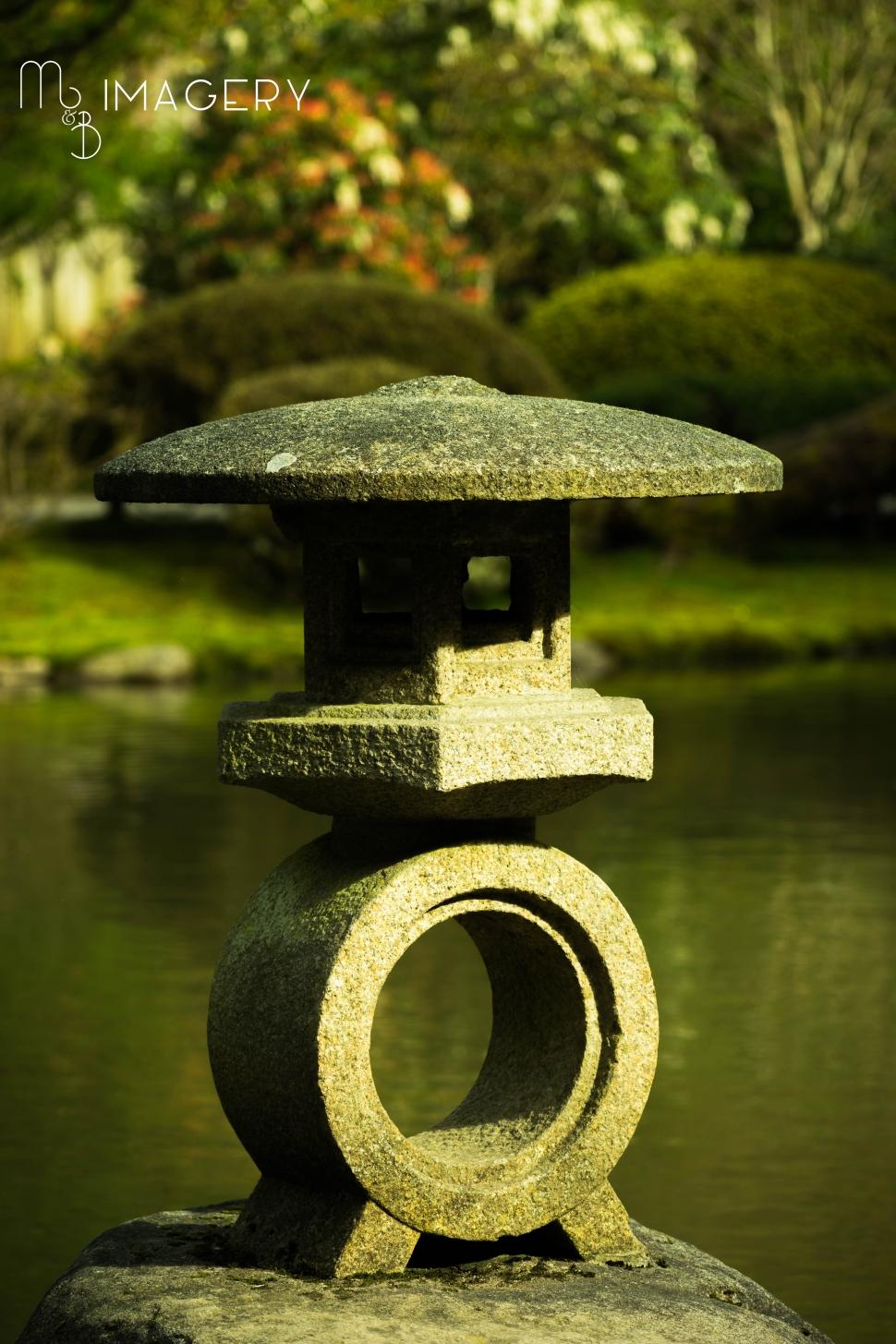 Statue, Japanese Garden